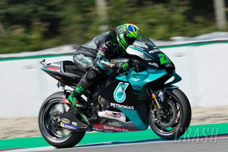 Morbidelli hails single lap pace, still to decide on race tyre