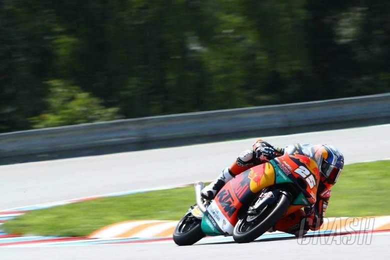 Moto3 Brno - Hasil Pemanasan