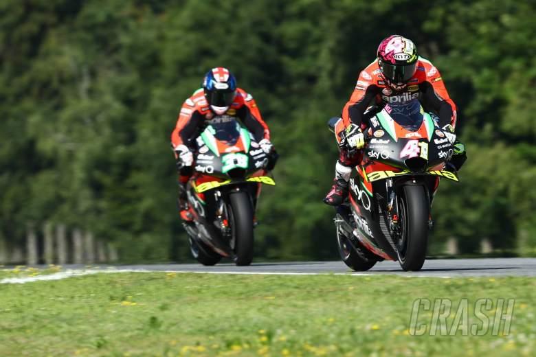 Aprilia thanks rivals for piston change permission