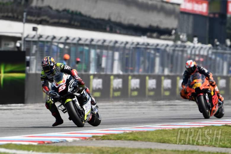 'Tidak ada penyesalan' saat Zarco memuji Binder, KTM atas kemenangan bersejarah MotoGP