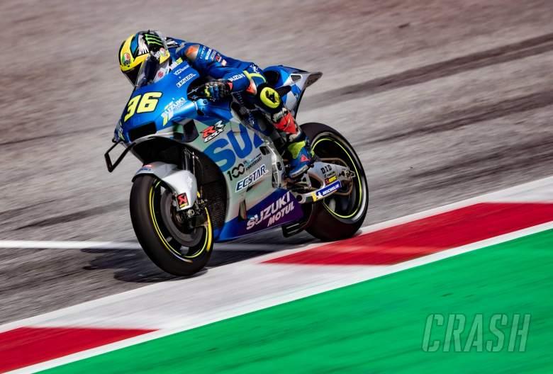Mir membuktikan dirinya mematahkan podium bebek dengan gaya MotoGP