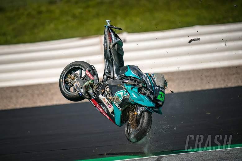 IN PICS: Rossi dan Vinales nyaris absen di MotoGP Austria