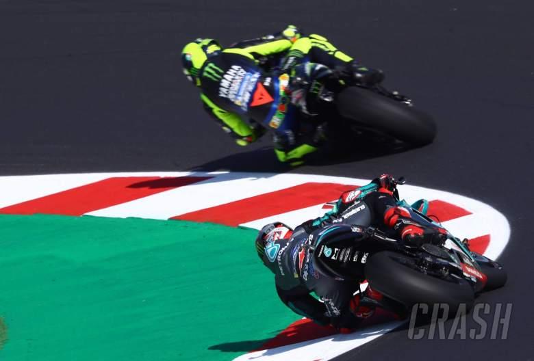 Valentino Rossi Fabio Quartararo , San Marino MotoGP. 11 September 2020