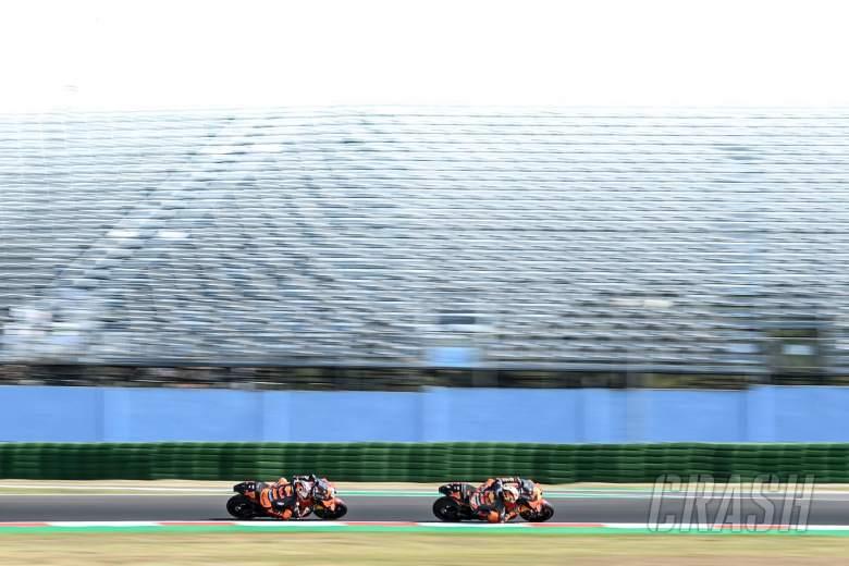 Pol Espargaro, Brad Binder, San Marino MotoGP. 11September 2020