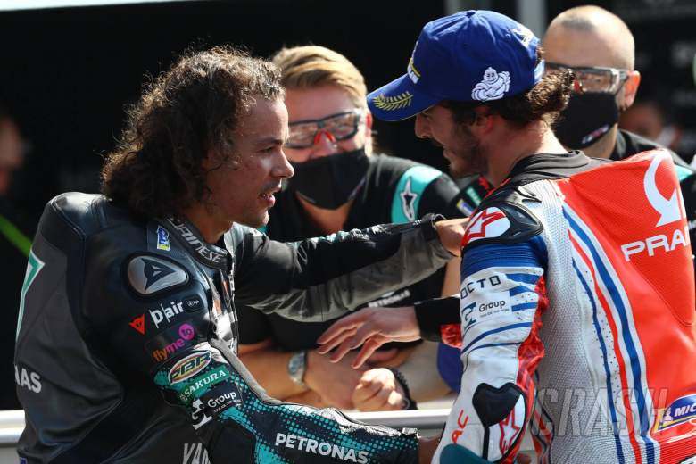 Franco Morbidelli , Francesco Bagnaia MotoGP race, San Marino MotoGP, 13 September 2020