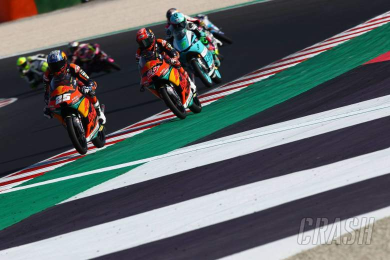 Raul Fernandez Moto3, Emilia Romagna MotoGP. 19 September 2020
