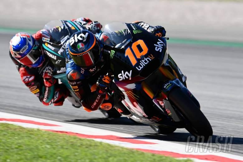 Luca Marini, Moto2, Catalunya MotoGP. 25 September 2020