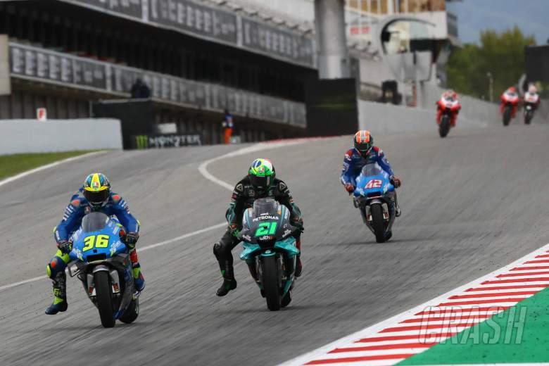 Joan Mir, Franco Morbidelli , Catalunya MotoGP. 27 September 2020