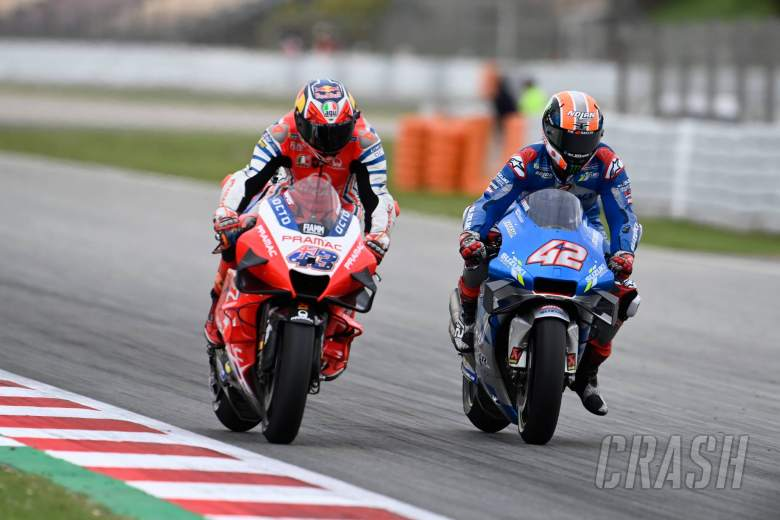 Alex Rins, Catalunya MotoGP race. 27 September 2020