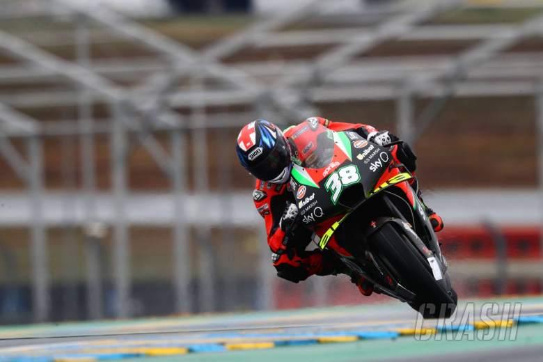 Bradley Smith, French MotoGP. 9 October 2020
