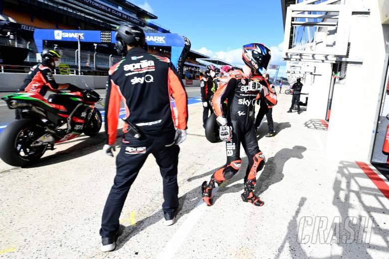 Bradley Smith, French MotoGP. 10 October 2020