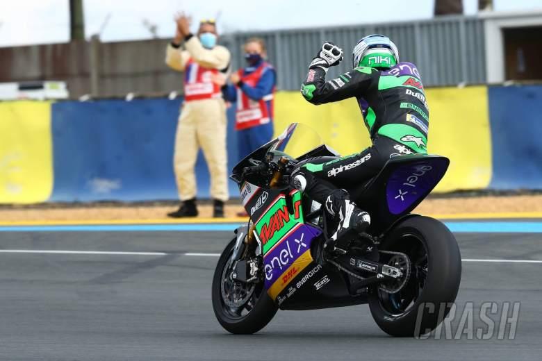 Niki Tuuli , MotoE race, French MotoGP. 11 October 2020