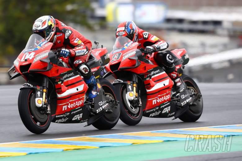 Andrea Dovizioso Danilo Petrucci MotoGP race, French MotoGP. 11 October 2020