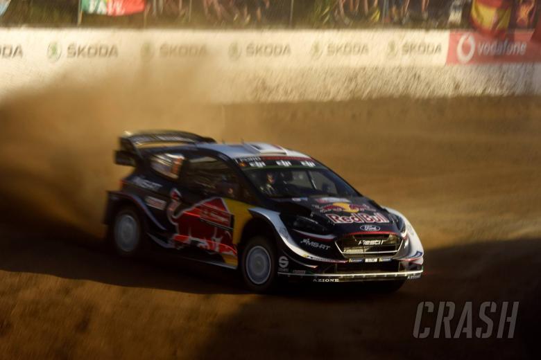 Rally Italia Sardegna - Klasifikasi setelah SS1