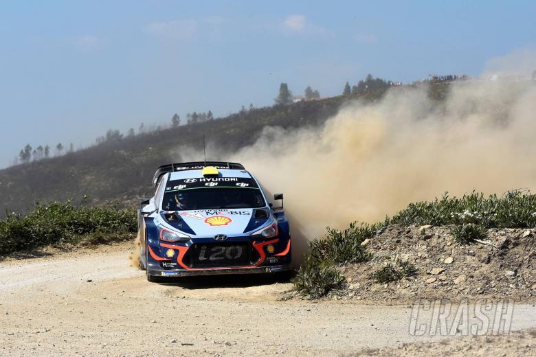 Rally Italia Sardegna - Klasifikasi setelah SS5