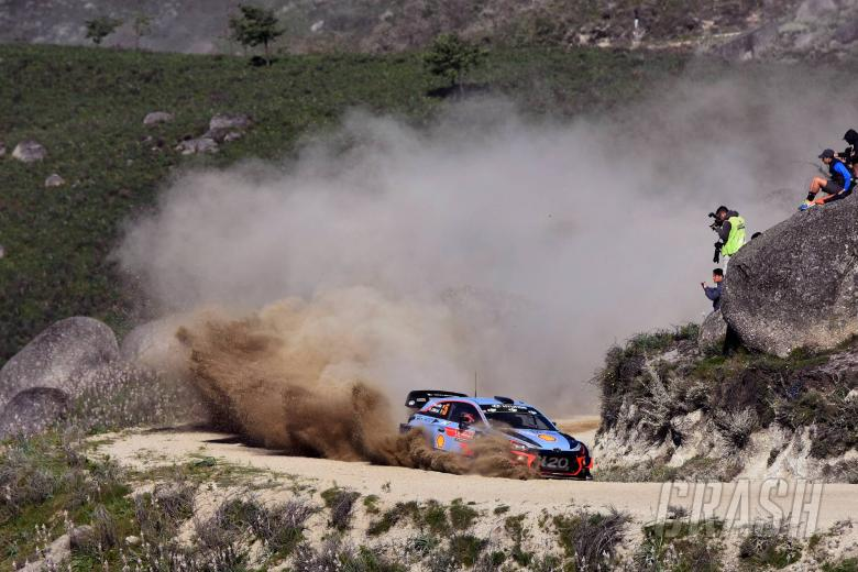 World Rally: Neuville takes WRC title lead with Portugal win