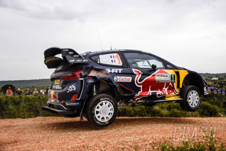 World Rally: Rally Italia Sardegna - Classification after SS9