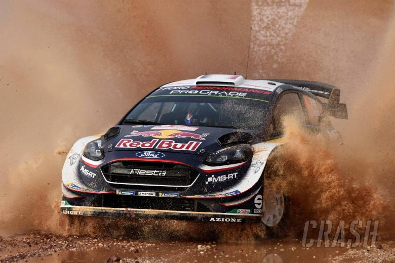 World Rally: Rally Italia Sardegna - Classification after SS12