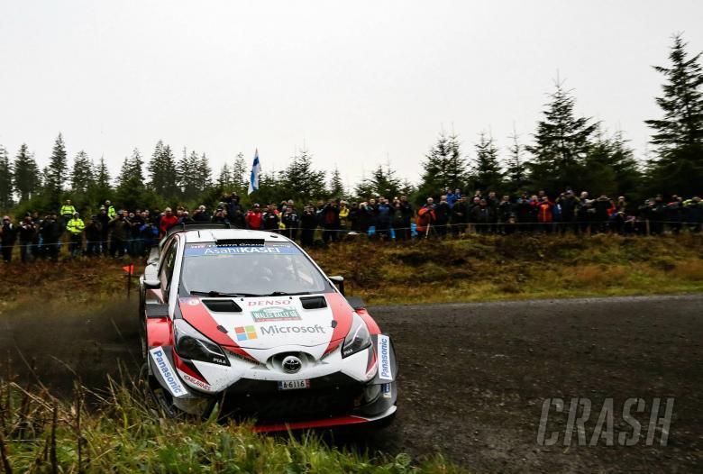 Wales Rally GB - Klasifikasi setelah SS9
