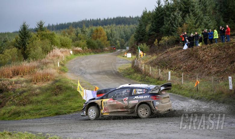 Wales Rally GB - Klasifikasi setelah SS18