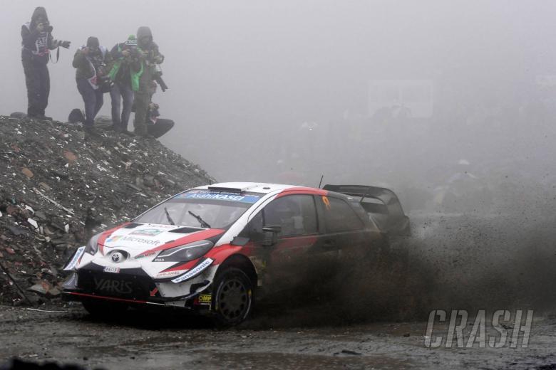 Wales Rally GB - Klasifikasi setelah SS14