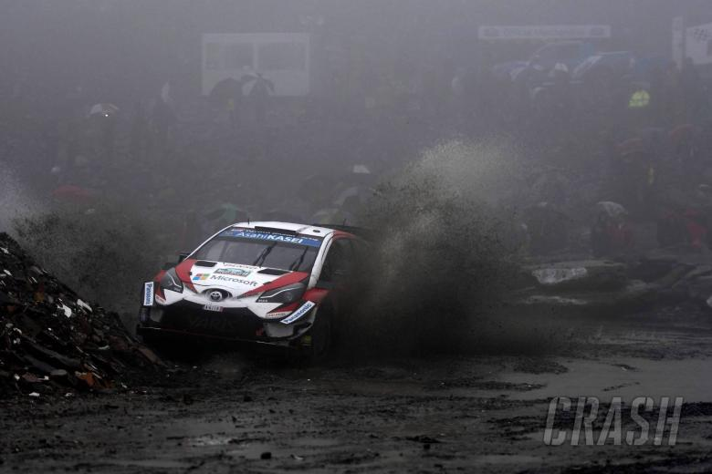 World Rally: Tanak drops out from lead to hand Ogier Wales Rally GB chance