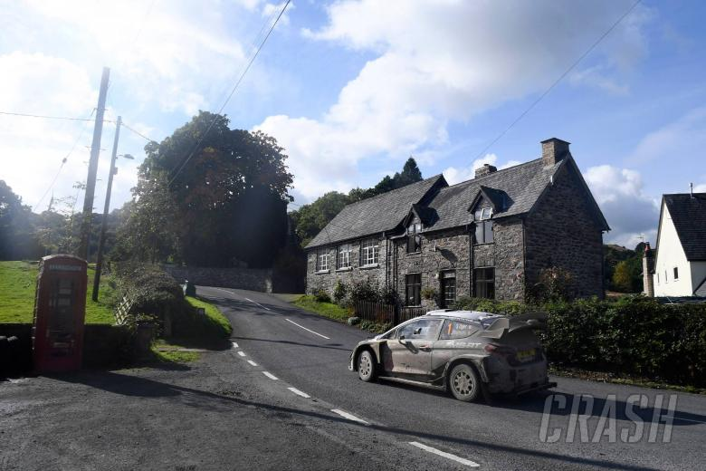Wales Rally GB - Hasil
