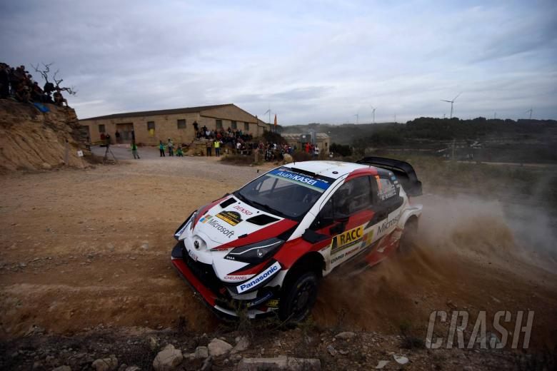 Latvala charges into lead from Ogier in Spain