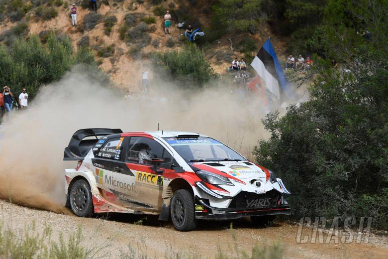 World Rally: RallyRACC Catalunya - Classification after SS14