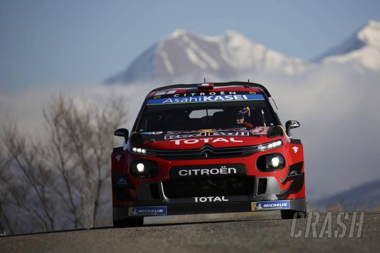 Rallye Monte-Carlo - Klasifikasi setelah SS12
