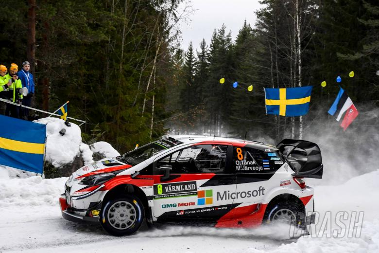 World Rally: Tanak charges early at Rally Sweden