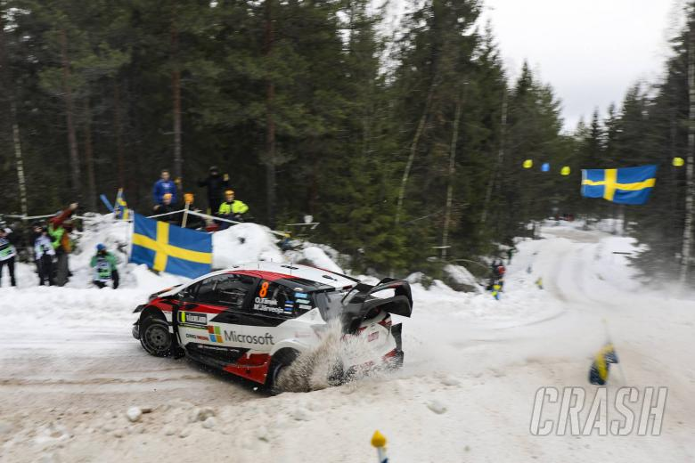 World Rally: Rally Sweden - Classification after SS4