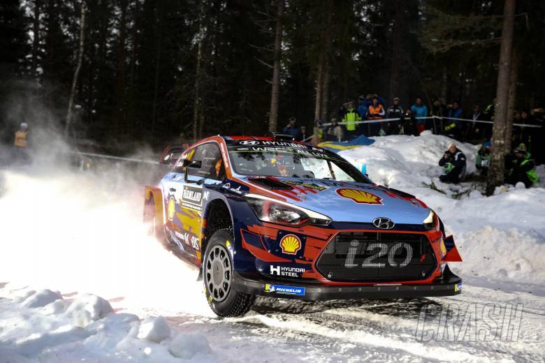 Rally Sweden - Klasifikasi setelah SS1