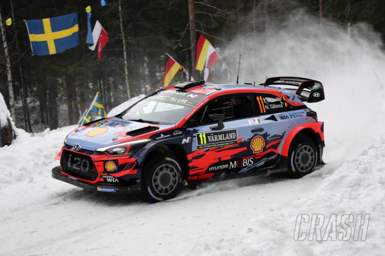 World Rally: Neuville leads Ogier as Rally Sweden gets underway