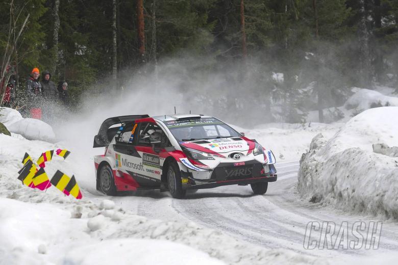 16.02.2019 - Ott Tanak (EST)-Martin Jarveoja (EST) TOYOTA YARIS WRC , TOYOTA GAZOO RACING WRT