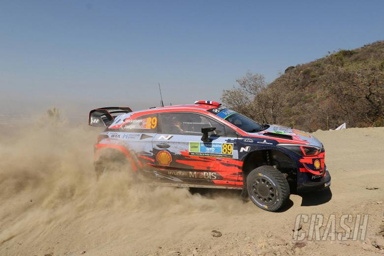 World Rally: Mikkelsen leads Rally Mexico, Suninen crashes out