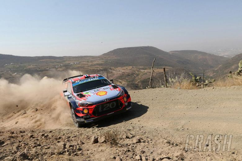 World Rally: Rally Mexico - Classification SS4