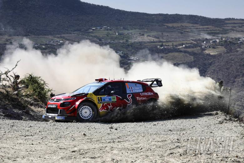 World Rally: Rally Mexico - Classification after SS12