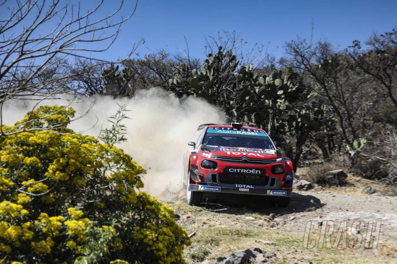 World Rally: Rally Mexico - Classification after SS9