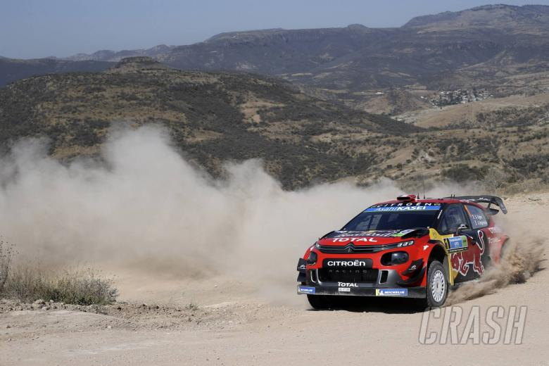 World Rally: Ogier takes over Rally Mexico lead as rivals falter