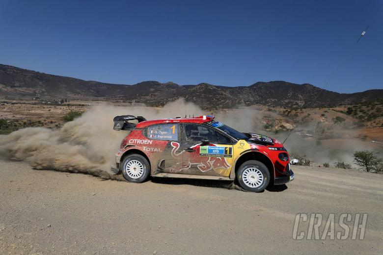 World Rally: Rally Mexico - Results