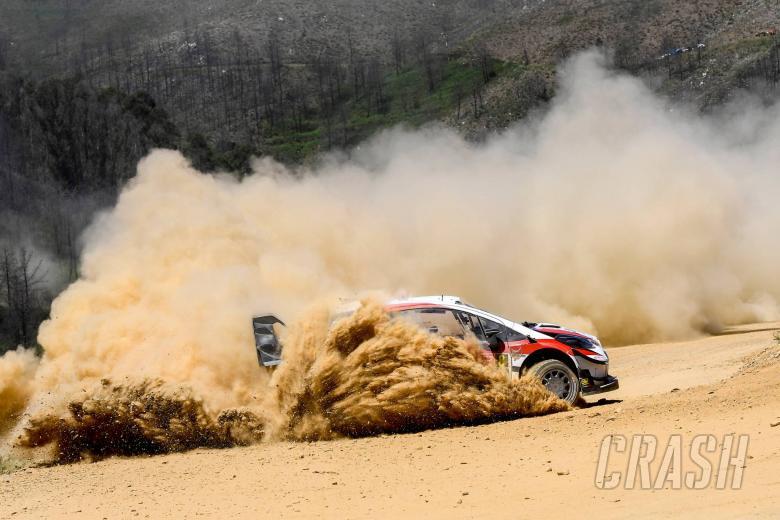 Tanak mempertahankan keunggulan Rally Portugal dalam pertarungan empat arah