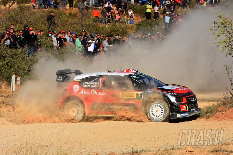 Meeke keeps lead in Spain from Ogier