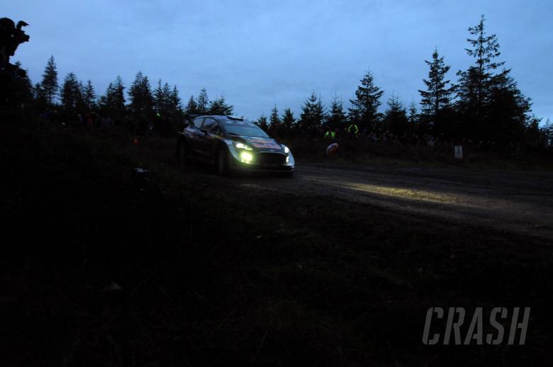 World Rally: Ogier leads Wales Rally GB