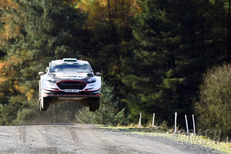 World Rally: Wales Rally GB - Classification after SS16