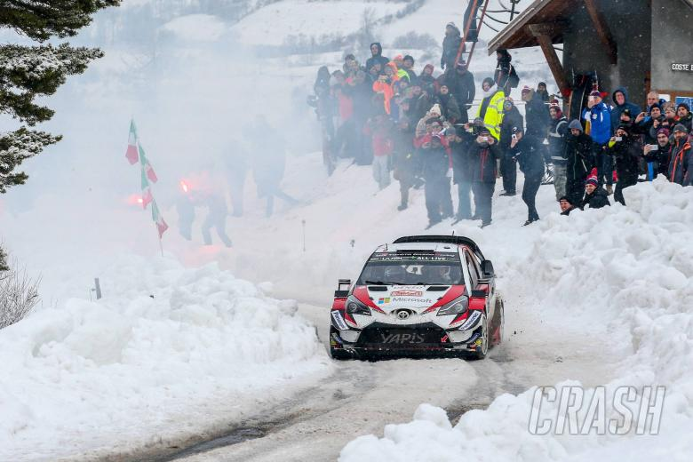 World Rally: Tanak opts for steady approach on impressive Toyota debut
