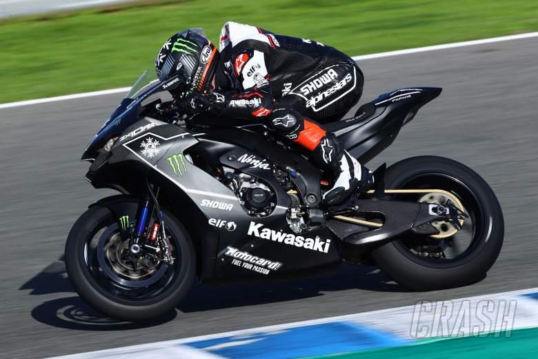 Jonathan Rea on the new Kawasaki ZX10RR, WorldSBK Jerez test 17th November 2020