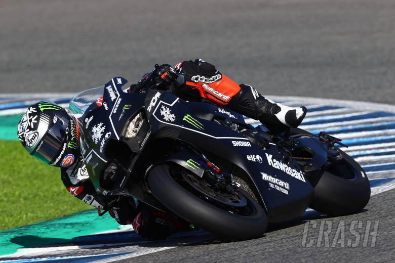 Jonathan Rea on the new Kawasaki ZX10RR, WorldSBK Jerez test 17th November 2020