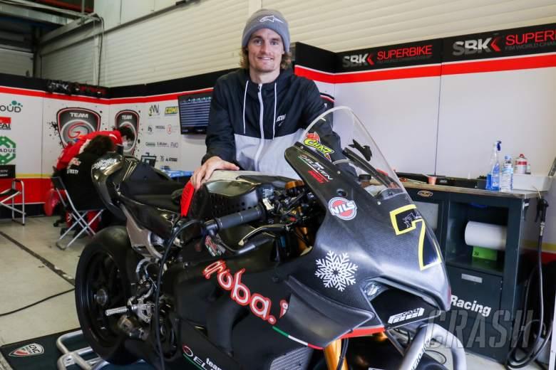 Chaz Davies, Jerez WorldSBK test, 21 Januray 2021