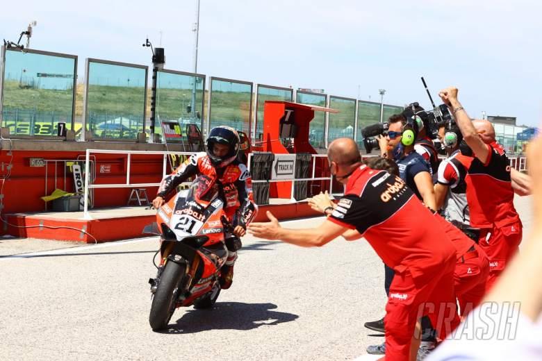 Michael Ruben Rinaldi, Misano WorldSBK race1, 2021